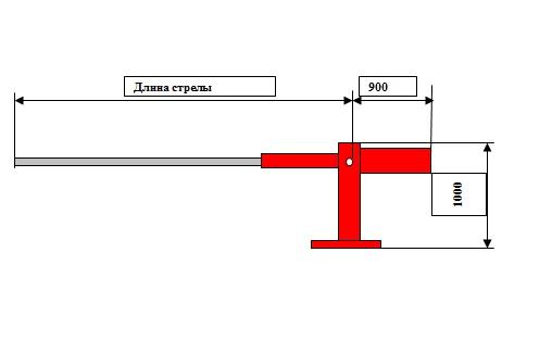 Механический шлагбаум купить в москве